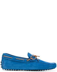 blaue Gummi Bootsschuhe von Tod's