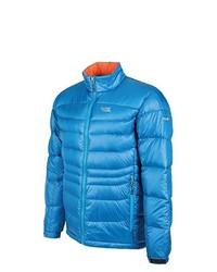 blaue Jacke von Alpine Crown