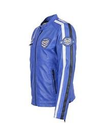 blaue Jacke von Freaky Nation