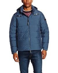blaue Jacke von Strellson Premium