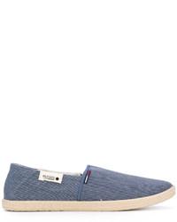 blaue Jeans Espadrilles von Tommy Hilfiger