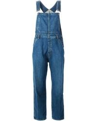 blaue Jeans Latzhose von Calvin Klein Jeans