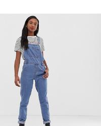 blaue Jeans Latzhose von Only Tall