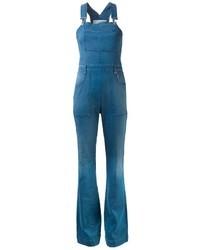 blaue Jeans Latzhose von Stella McCartney