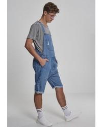blaue Jeans Latzhose von Urban Classics