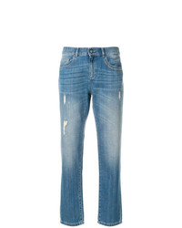 blaue Jeans mit Destroyed-Effekten von Ash