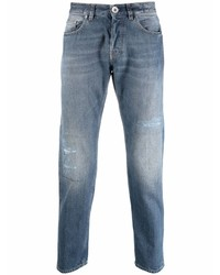 blaue Jeans mit Destroyed-Effekten von Eleventy