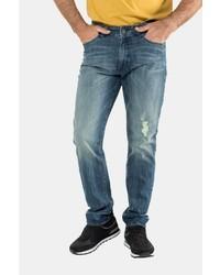 blaue Jeans mit Destroyed-Effekten von JP1880