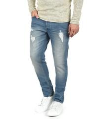 blaue Jeans mit Destroyed-Effekten von Solid