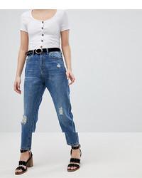 blaue Jeans mit Destroyed-Effekten von Vero Moda