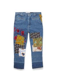 blaue Jeans mit Flicken von Loewe