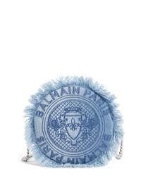 blaue Jeans Umhängetasche