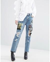 Blaue Jeans von Asos