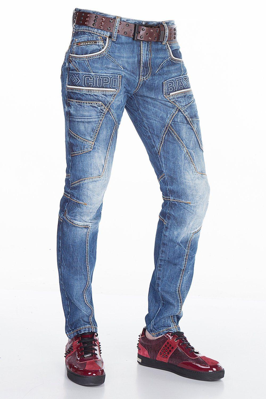 blaue Jeans von Cipo & Baxx