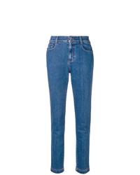 blaue Jeans von Fendi