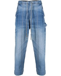 blaue Jeans von Greg Lauren