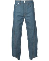 blaue Jeans von Lanvin