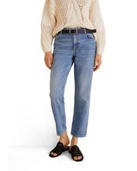 blaue Jeans von Mango