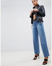 blaue Jeans von Missguided