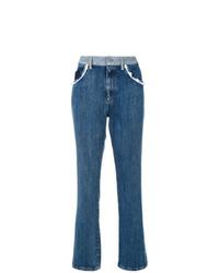 blaue Jeans von Miu Miu
