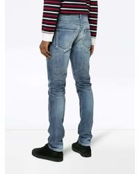 blaue Jeans von Saint Laurent