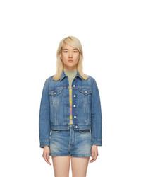 blaue Jeansjacke von Acne Studios