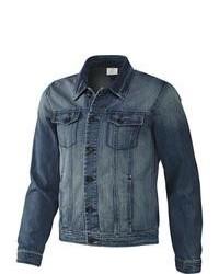 Blaue Jeansjacke von adidas