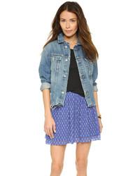 blaue Jeansjacke von AG Jeans