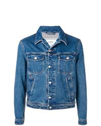 blaue Jeansjacke von AMI Alexandre Mattiussi