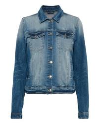 blaue Jeansjacke von B.young