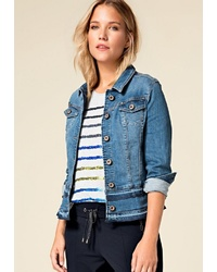 blaue Jeansjacke von BIANCA
