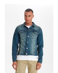 blaue Jeansjacke von BLEND