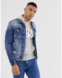 blaue Jeansjacke von Chasin'