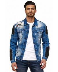 blaue Jeansjacke von Cipo & Baxx