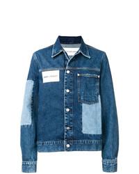 blaue Jeansjacke von CK Jeans