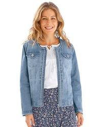 blaue Jeansjacke von CLASSIC INSPIRATIONEN
