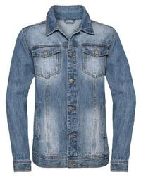 blaue Jeansjacke von Classic