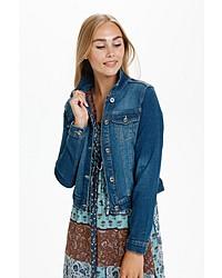 blaue Jeansjacke von Cream