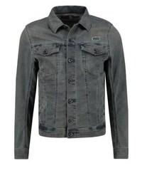 blaue Jeansjacke von Diesel