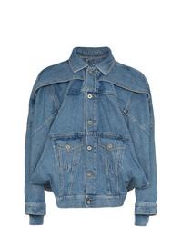 blaue Jeansjacke von Diesel Red Tag