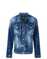 blaue Jeansjacke von DSQUARED2