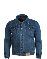 blaue Jeansjacke von Duke Clothing