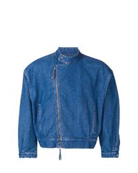 blaue Jeansjacke von E. Tautz