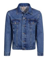 blaue Jeansjacke von Eagle No. 7