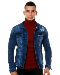 blaue Jeansjacke von EX-PENT