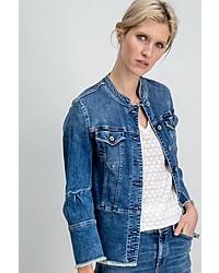 blaue Jeansjacke von Garcia