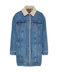 blaue Jeansjacke von Levi's