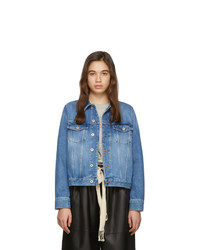 blaue Jeansjacke von Loewe