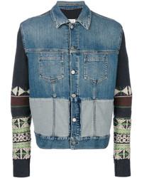 blaue Jeansjacke von Maison Margiela