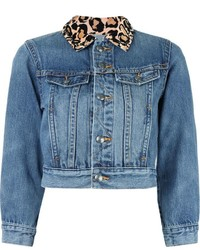 blaue Jeansjacke von Marc by Marc Jacobs